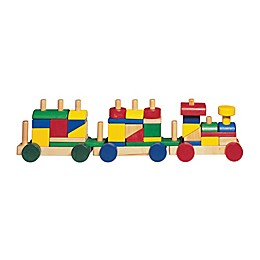 House of Marbles TiddlyTots Cheery Choo Choo Wooden Building Blocks