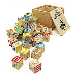 House of Marbles TiddlyTops Wooden Building Blocks