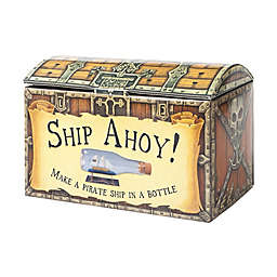 House of Marbles Ship Ahoy! Pirate Ship in Bottle Kit