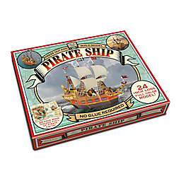 House of Marbles Press Out and Build Model Pirate Ship