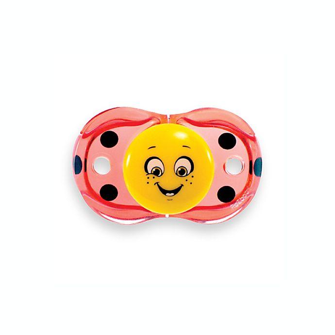 Alternate image 1 for RaZbaby® Keep-it-Kleen Ladybug Pacifier