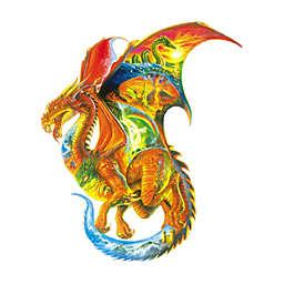 SunsOut 1000-Piece Dragon Dreams Shaped Jigsaw Puzzle
