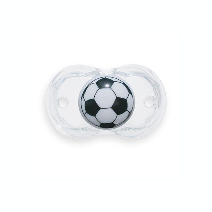 Alternate image 1 for RaZbaby® Keep-it-Kleen Soccer Ball Pacifier