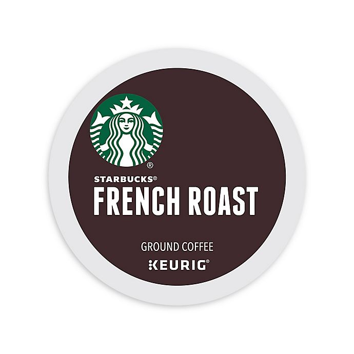 Alternate image 1 for Starbucks® Caffe French Dark Roast Coffee Keurig® K-Cup® Pods 16-Count
