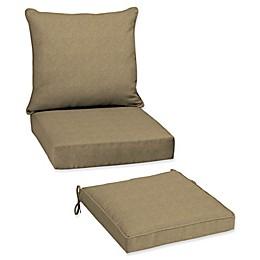 Arden Selections  Tan Hamilton Beige Patio Furniture Cushions