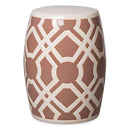 Emissary 18-Inch Labyrinth Stool in Vintage Rose