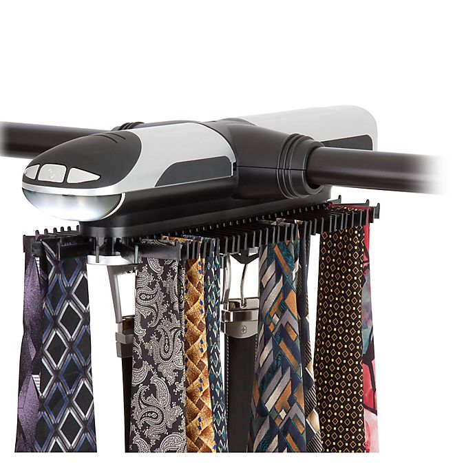 Alternate image 1 for Honey-Can-Do® Electronic Tie Rack