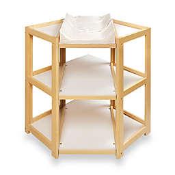 Badger Basket Corner Unit Changing Table in Natural