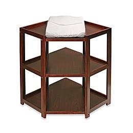 Badger Basket Corner Unit Changing Table in Cherry