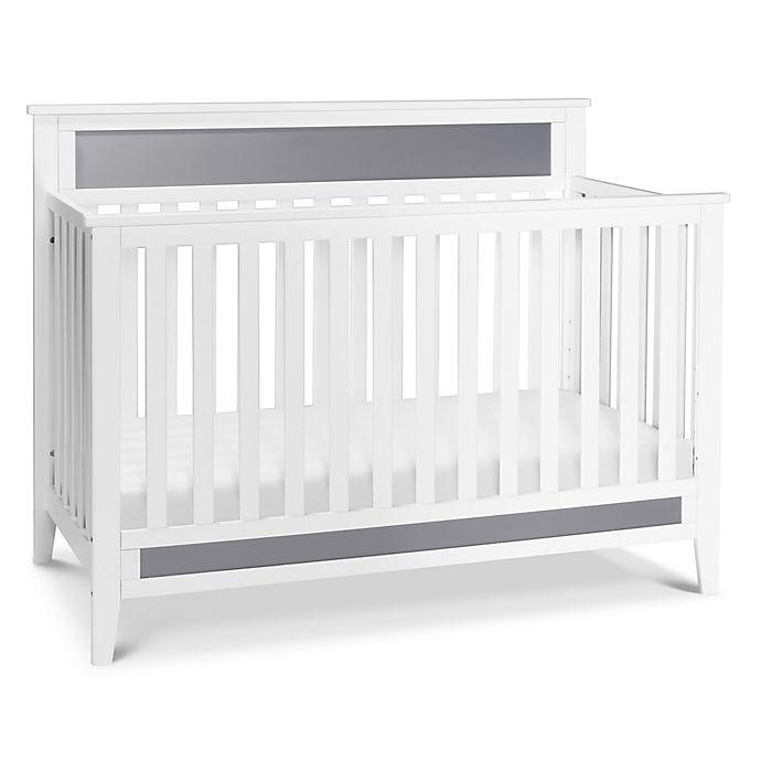 Alternate image 1 for carter's® by DaVinci® Connor 4-in-1 Crib in White/Grey