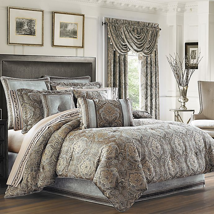 J Queen New York Provence Comforter Set Bed Bath Amp Beyond