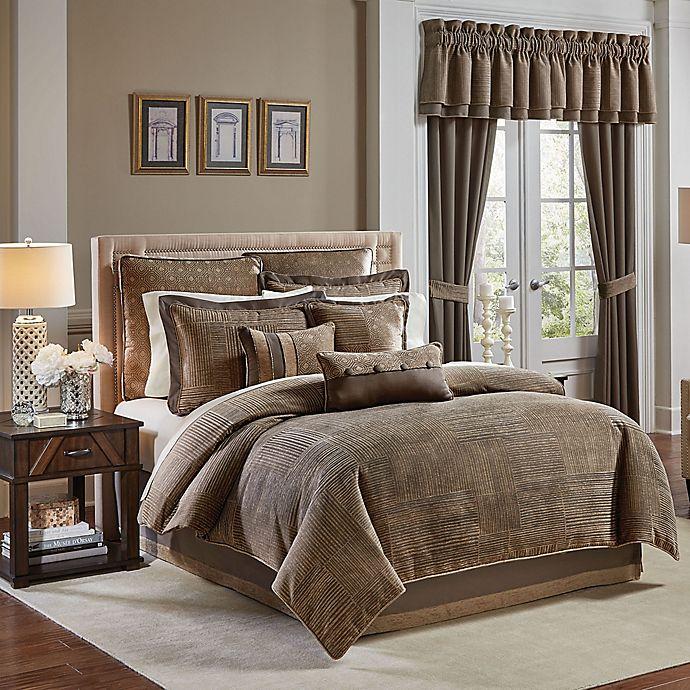 Buy Croscill® Benson King Comforter Set In Dove Grey From