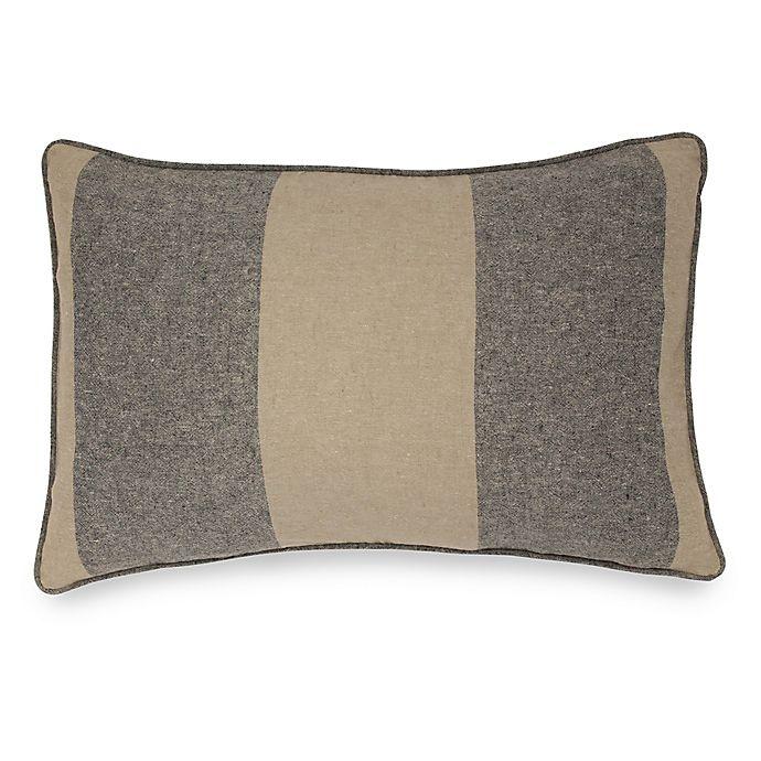 Alternate image 1 for Joseph Abboud Environments Oakhill Oblong Throw Pillow in Walnut