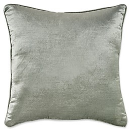 Bridge Street Hampton Square Throw Pillow in Sea Glass