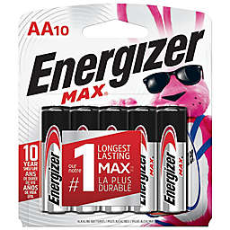 Energizer® MAX 10-Pack AA Batteries