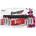 Energizer MAX 20-Pack AA Batteries