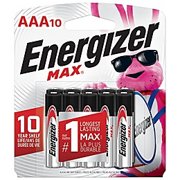 Energizer MAX 10-Pack AAA Batteries