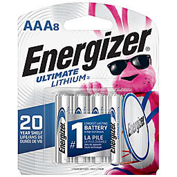 Energizer® 8-Pack Ultimate Lithium AAA Batteries