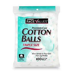Harmon® Face Values™ 100-Count Triple Size Cotton Balls