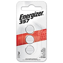 Energizer® 357 3-Pack Silver Oxide Batteries