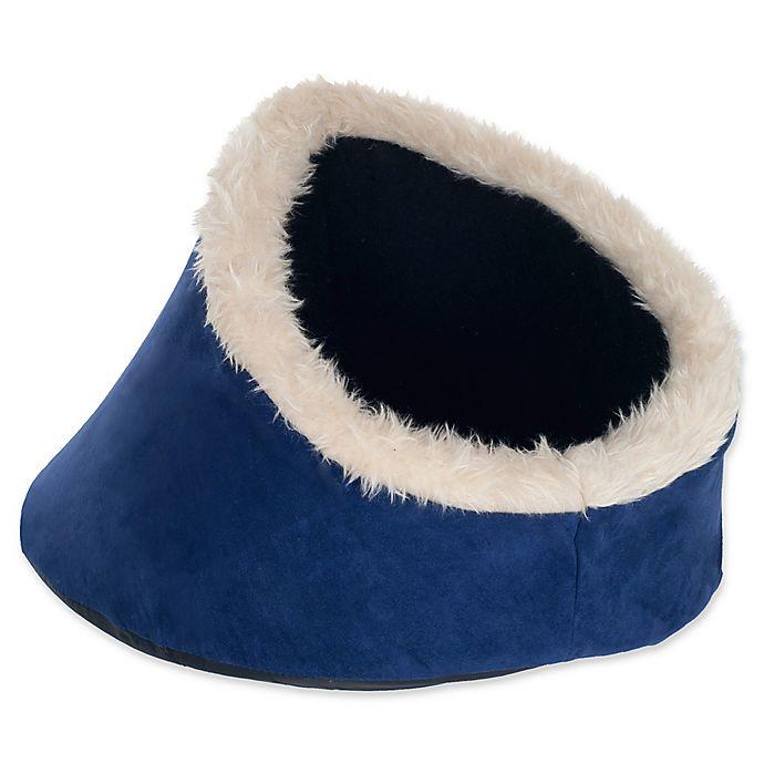 Alternate image 1 for PETMAKER Comfort Cavern Cat Pet Bed