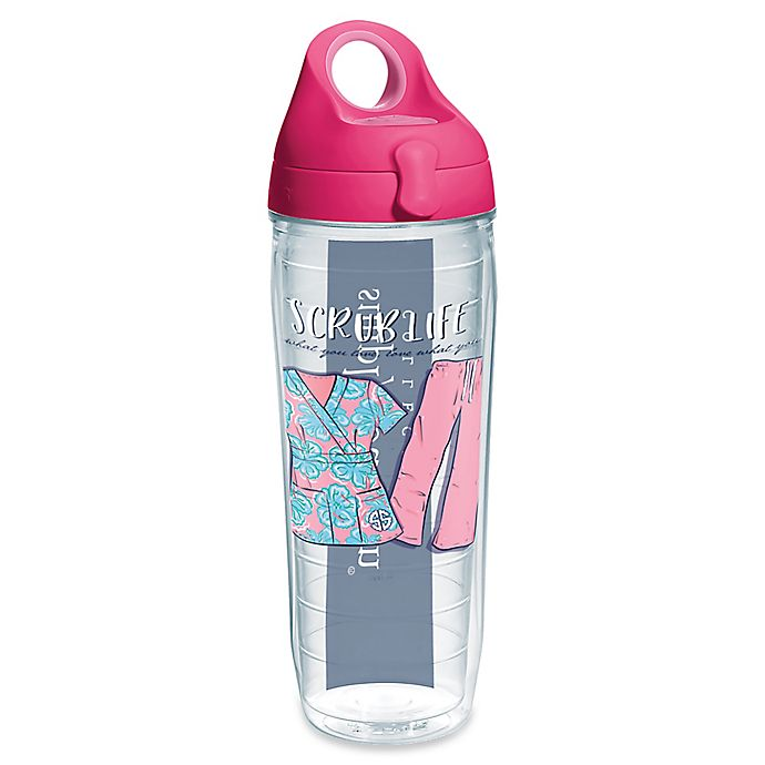 Alternate image 1 for Tervis® Simply Southern Scrub Life 24 oz. Water Bottle with Lid