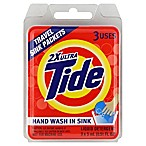 Tide® 3-Count Travel Liquid Detergent Sink Packets