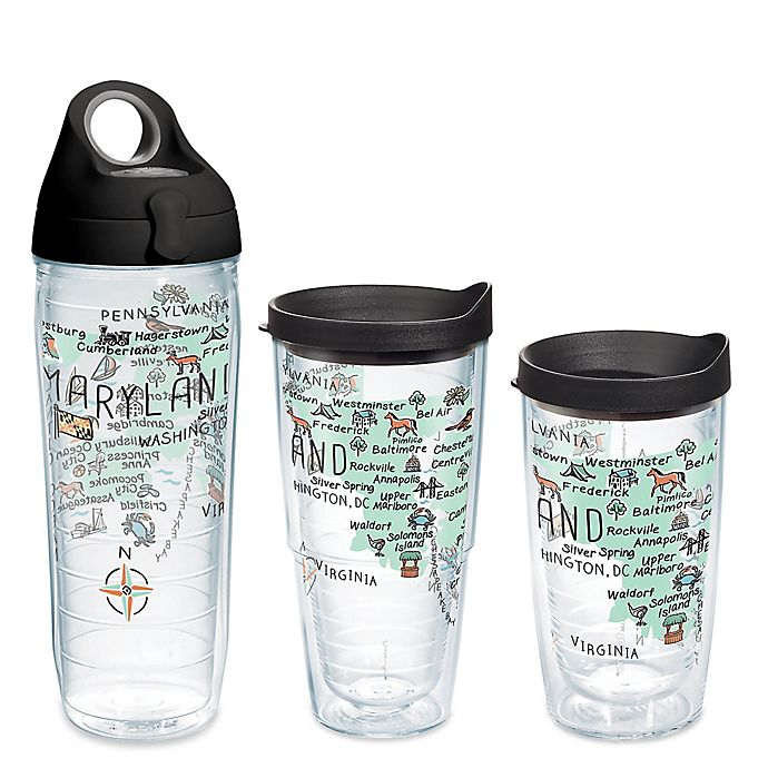 Alternate image 1 for Tervis® My Place Maryland Wrap Tumbler with Lid