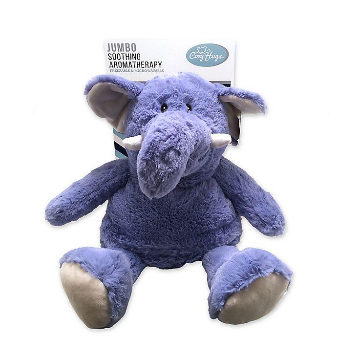 Alternate image 1 for Jumbo Elephant Cozy Hug in Blue
