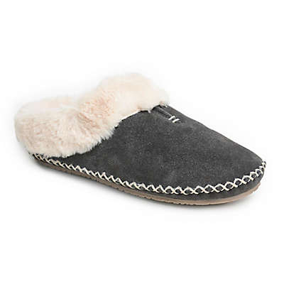 Minnetonka® Anne Women's Clog Slipper in Charcoal
