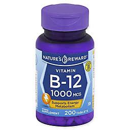 Nature's Reward 200-Count 1000 mcg Vitamin B-12 Tablets