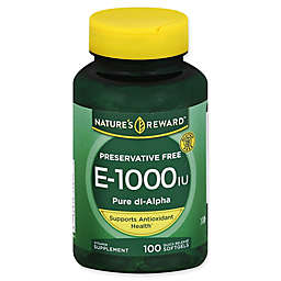 Nature's Reward 100-Count Vitamin E 1000 IU Quick Release Softgels