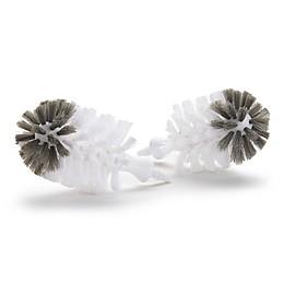 Munchkin® ReShine™ 2-Pack Plastic Bottle Brush Refill Brush Heads in White/Grey