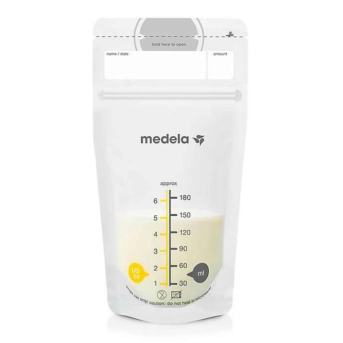 Alternate image 1 for Medela 6 oz. Breast Milk Storage Bags