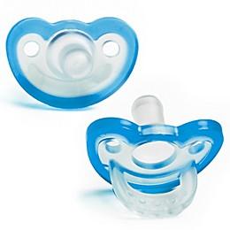 RaZbaby® JollyPop Pacifier In Blue