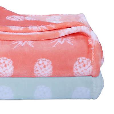 Berkshire Blanket® Pineapple VelvetLoft® Throw Blanket