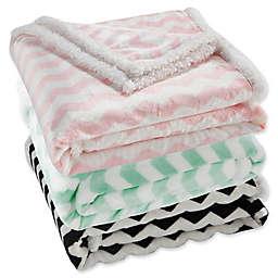Lala + Bash Fifi Sherpa Throw Blanket