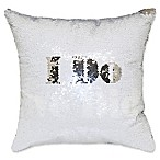 I Do, We Did  Mermaid Sequin Throw Pillow