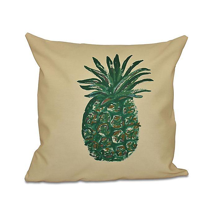 E by design Decorative Pillow Lemon
