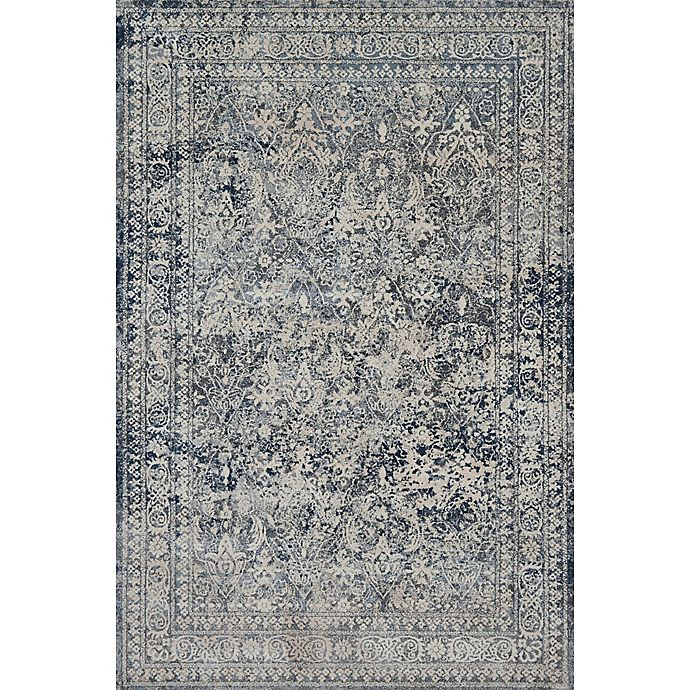 Magnolia Home By Joanna Gaines Everly Rug In Slate Bed Bath Beyond