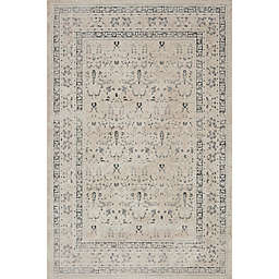Magnolia Home by Joanna Gaines Everly Rug in Ivory/Sand