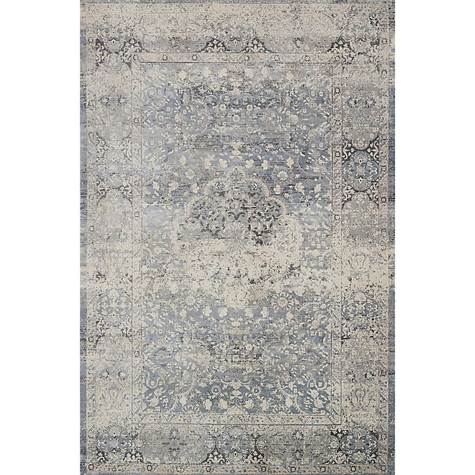 Alternate image 1 for Magnolia Home by Joanna Gaines Everly Rug in Mist