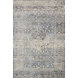 Magnolia Home by Joanna Gaines Everly 5-Foot 3-Inch x 7-Foot 8-Inch Area Rug in Mist