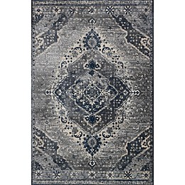 Magnolia Home by Joanna Gaines Everly Rug in Silver/Grey