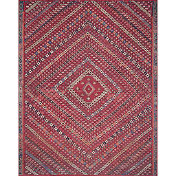 Magnolia Home by Joanna Gaines Lucca Rug in Red/Multi
