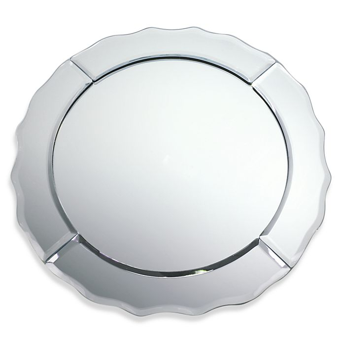 Alternate image 1 for Round 13-Inch Mirror Charger Plate