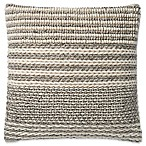 Magnolia Home by Joanna Gaines Barton 22-Inch Square Throw Pillow in Grey