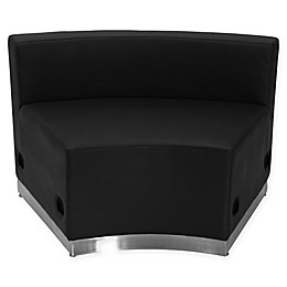 Flash Furniture Faux Leather Concave Chair