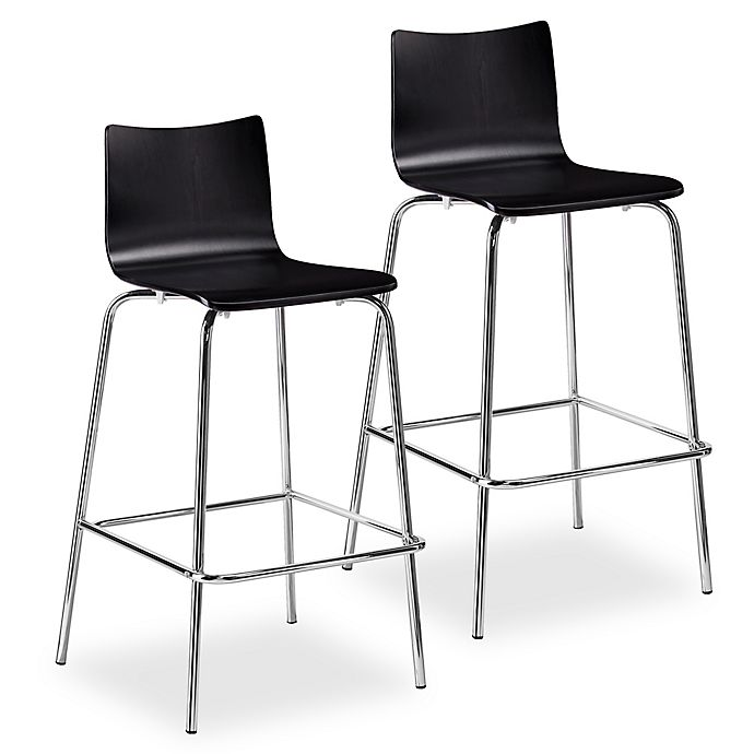 Incredible Holly Martin Blence Bar Stools Set Of 2 Bed Bath Beyond Uwap Interior Chair Design Uwaporg