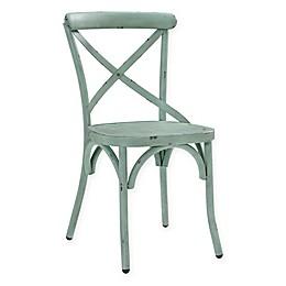Pulaski Distressed Metal Dining Chair